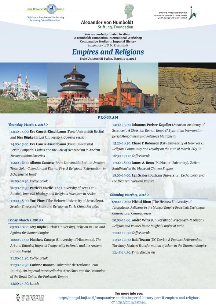 Empires and Religions