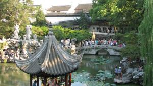 A pond in China